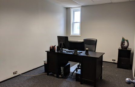 Private permanent office with barrier-free access $155/mo