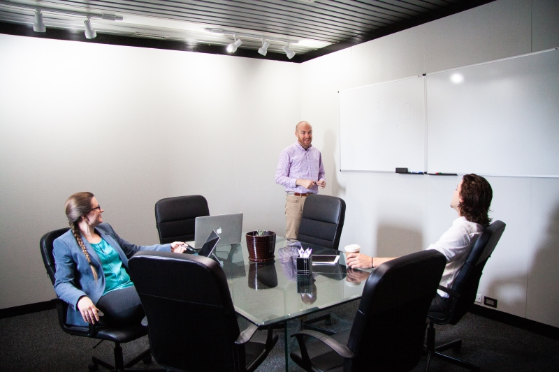 Reserve the ThinkTank Conference Room at PatchWork Collective