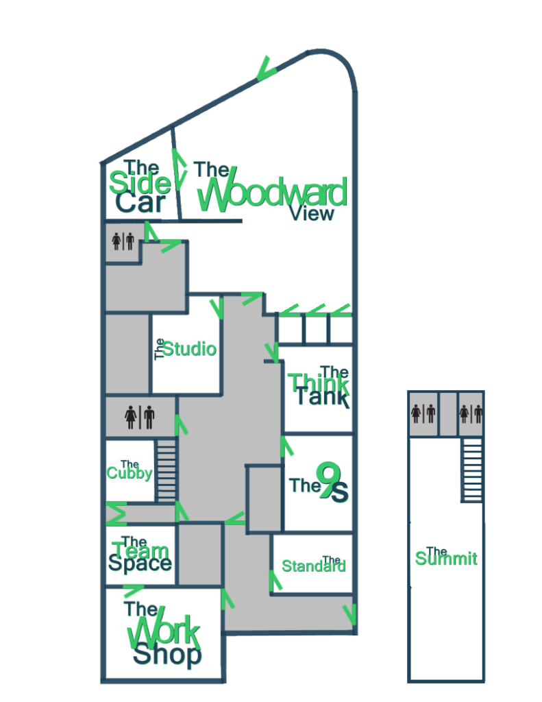 Find private office space at the PatchWork Collective