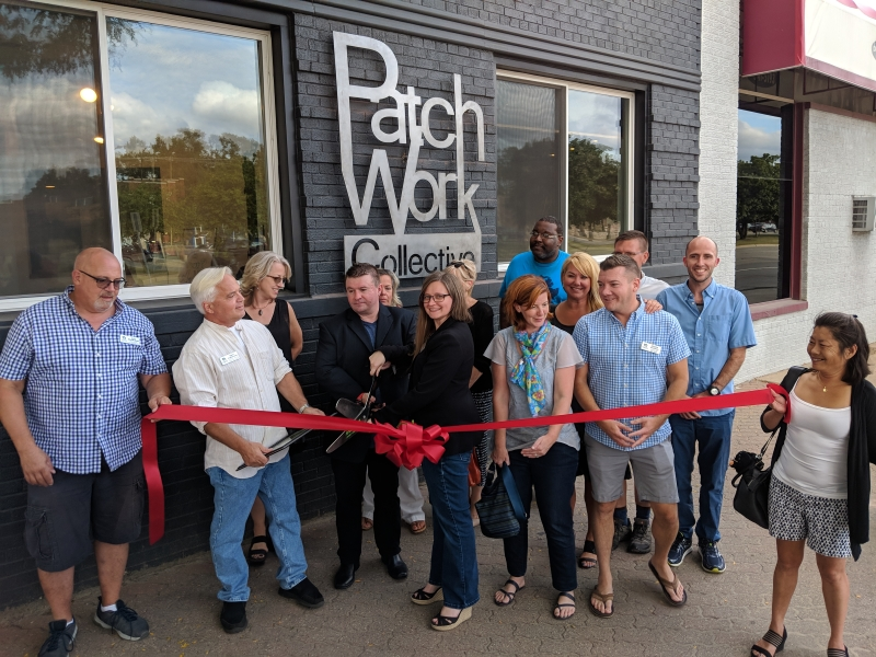 PatchWork Collective Grand Opening Ribbon Cutting