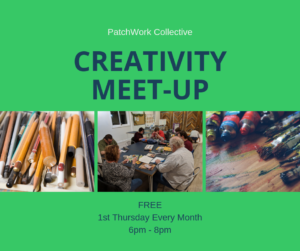 Creativity Meetup at PatchWork Collective