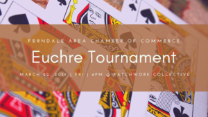 Ferndale Area Chamber hosts Euchre Tournament fundraiser at PatchWork Collective