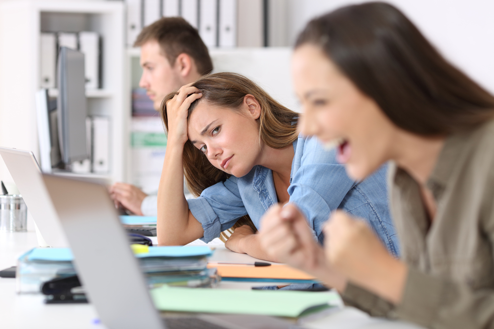 How to Avoid Coworker Envy
